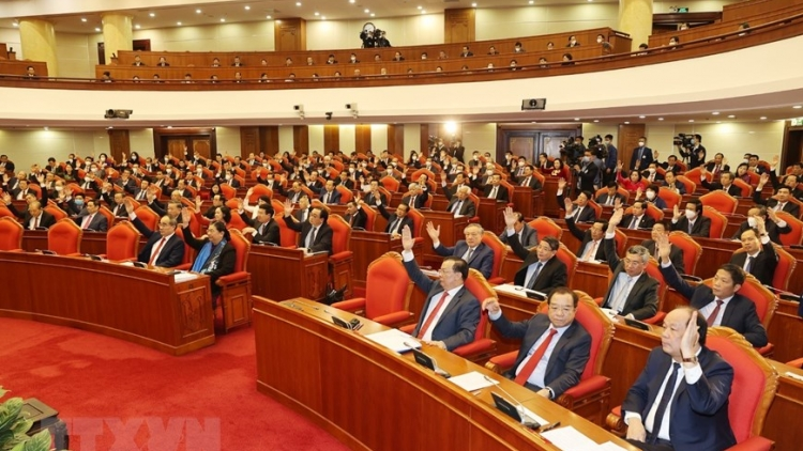Hội nghị Trung ương 14: Giới thiệu nhân sựtham gia Bộ Chính trị, Ban Bí thư