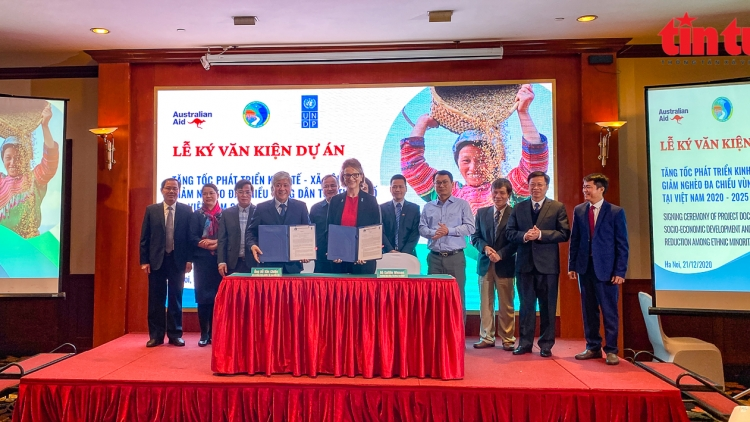 UNDP project supports development in ethnic minority areas