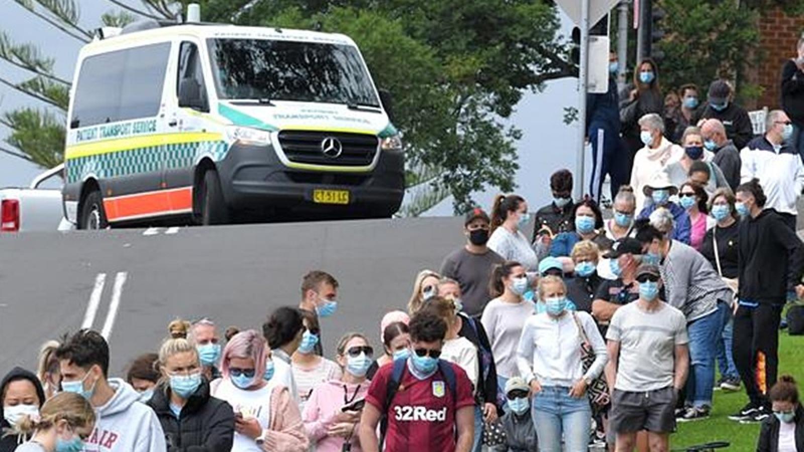 Australia chuẩn bị đón Năm mới trong nguy cơ dịch Covid-19 lây lan rộng