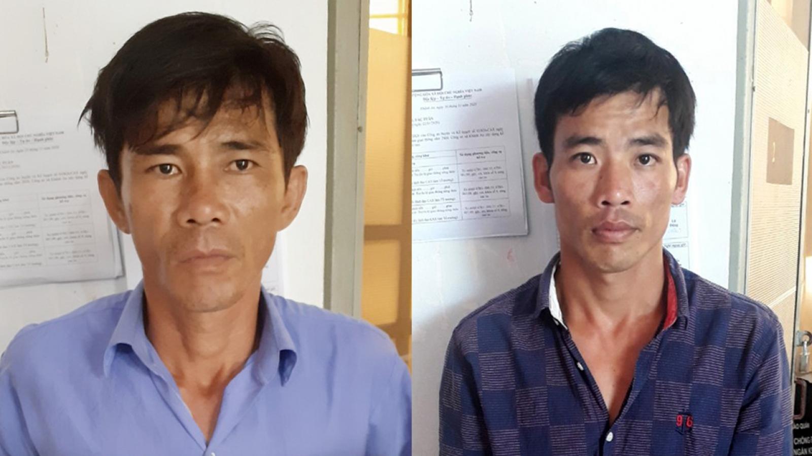 Bắt 2 đối tượng đưa người nhập cảnh trái phép từ Campuchia về Việt Nam