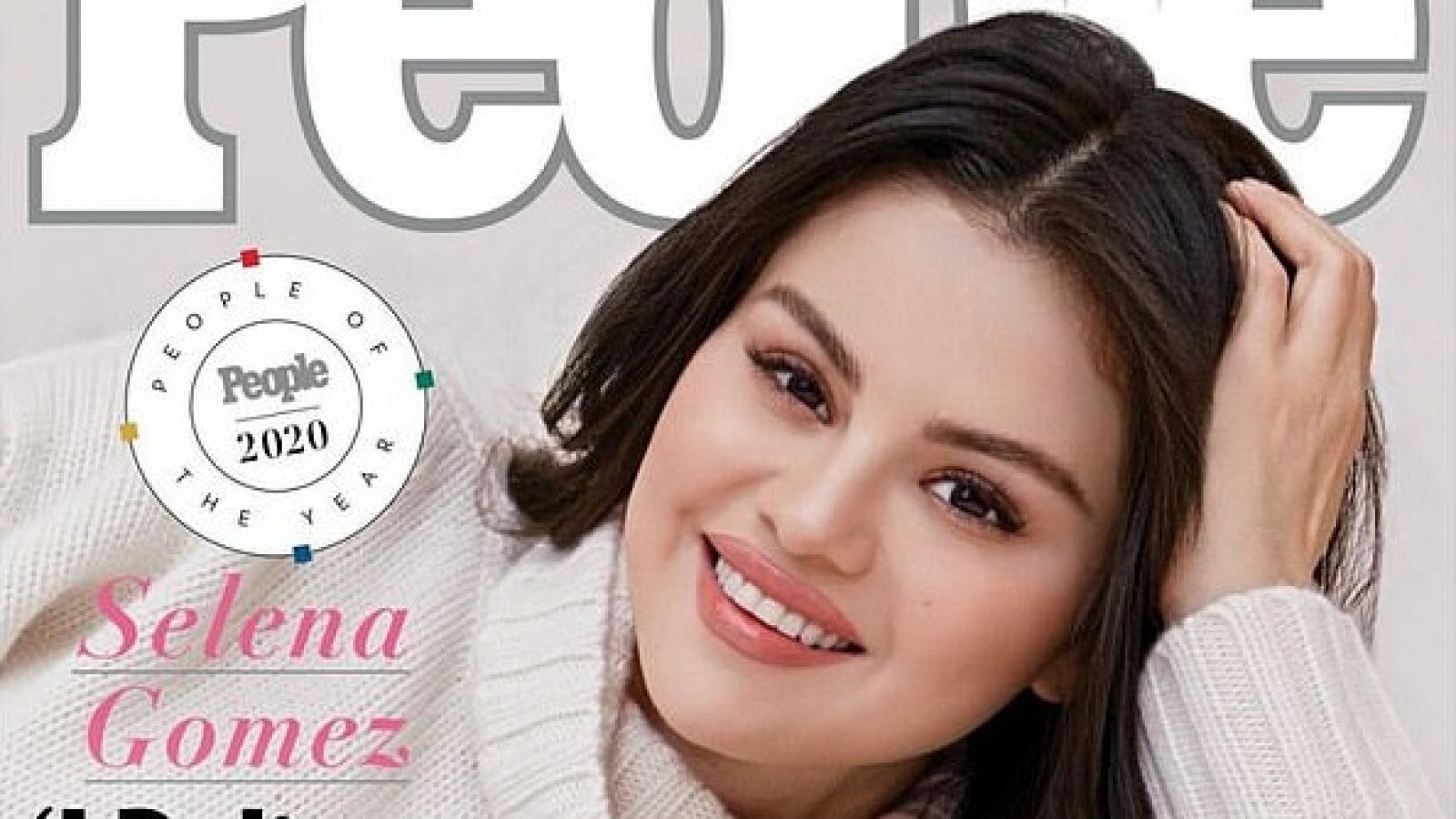 Selena Gomez được vinh danh là Nhân vật của năm