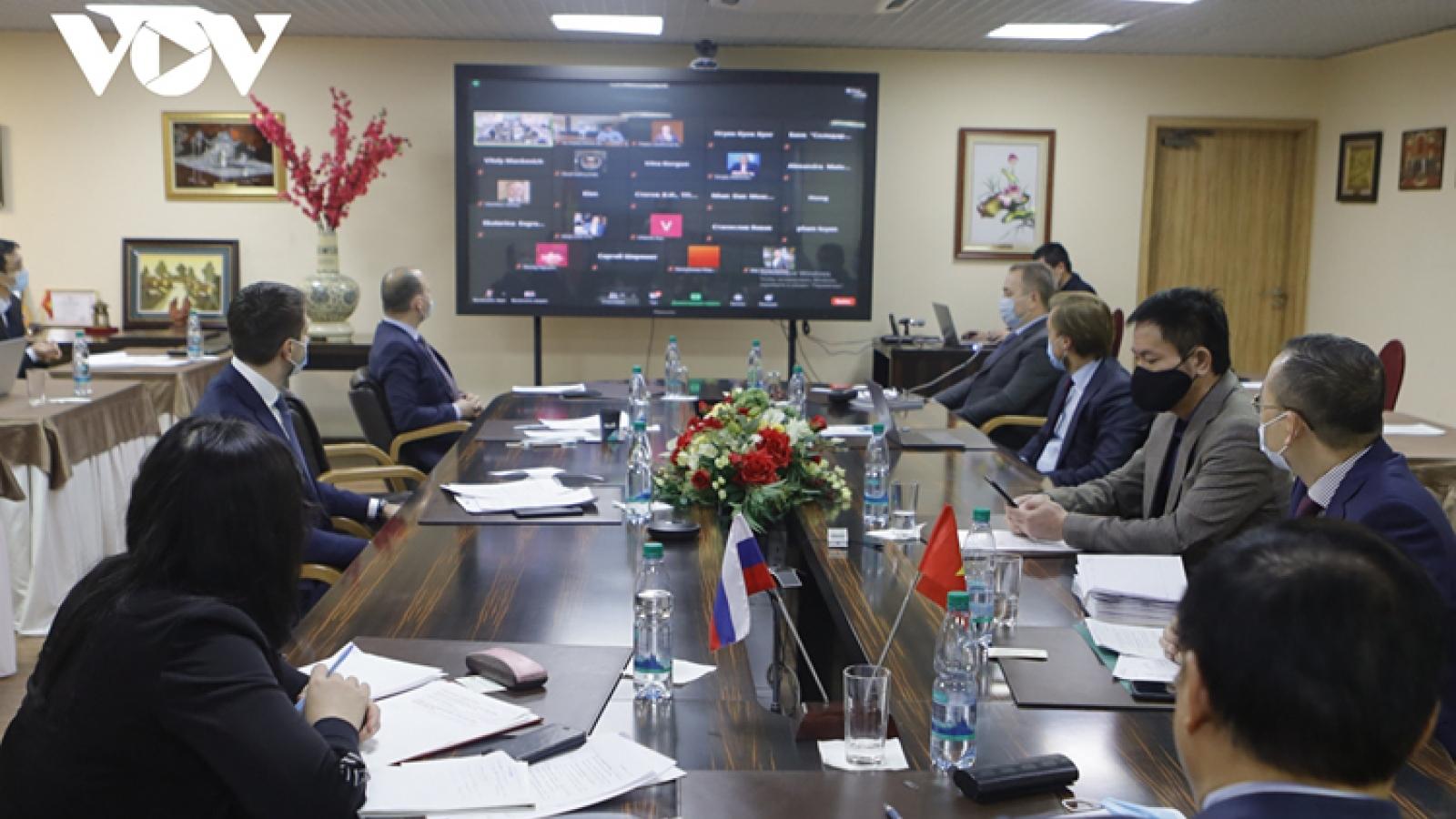 Vietnam, Russia promote economic-trade ties
