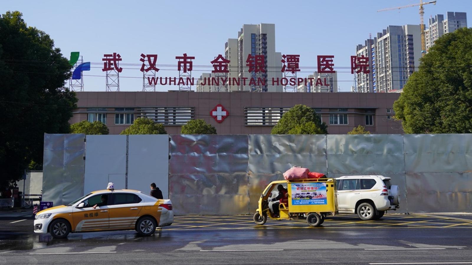 """Bệnh viện Kim Ngân Đàm """"vùng số 0"""" của dịch Covid-19 ở Vũ Hán"""