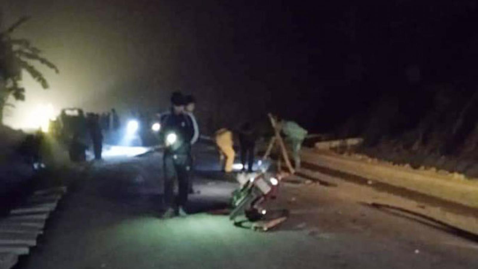 Truy tìm tài xế bỏ chạy sau va chạm với xe máy làm 2 người tử vong