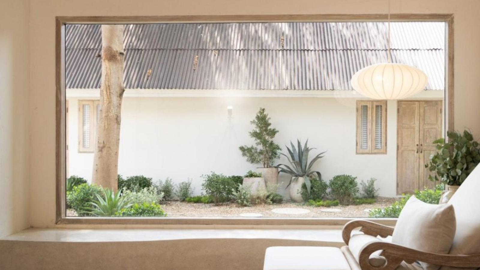 Ngôi nhà xinh xắn, nhẹ nhàng, đẹp tựa làn gió thu