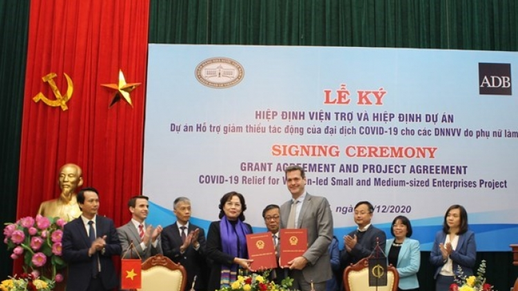 COVID-19 relief to support Vietnam's women-led SMEs