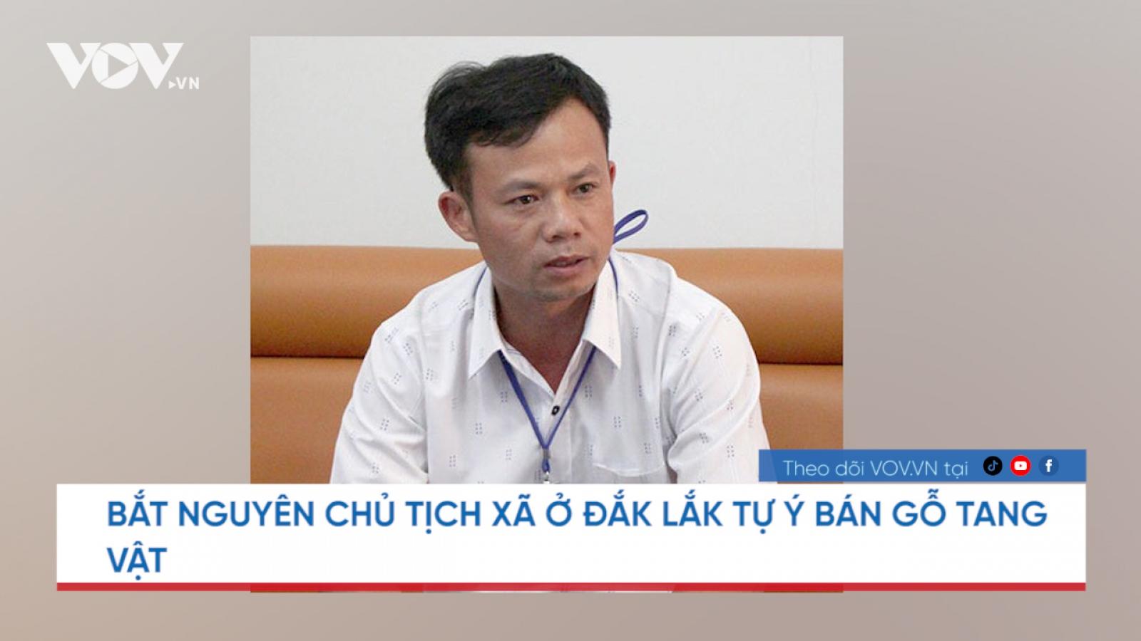 Nóng 24h: Chủ tịch xã ở Đắk Lắk tự ý dùng gỗ tang vật làm quà biếu lãnh đạo