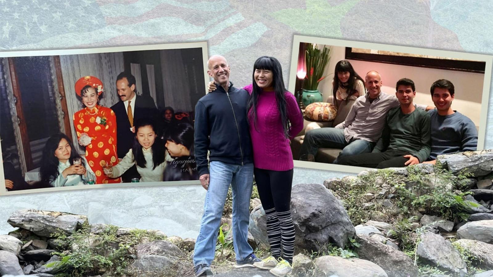 """""""Tôi mừng vì cuộc hôn nhân của tôi góp phần vun đắp cho quan hệ tốt đẹp Việt-Mỹ"""""""