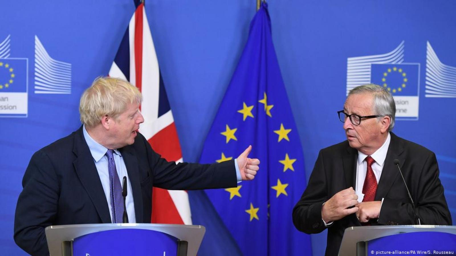 Thỏa thuận lịch sử định hình quan hệ tương lai EU-Anh