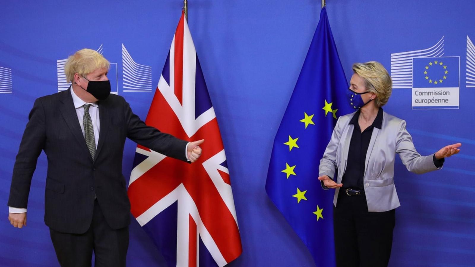 EU và Anh ca ngợi thỏa thuận lịch sử hậu Brexit