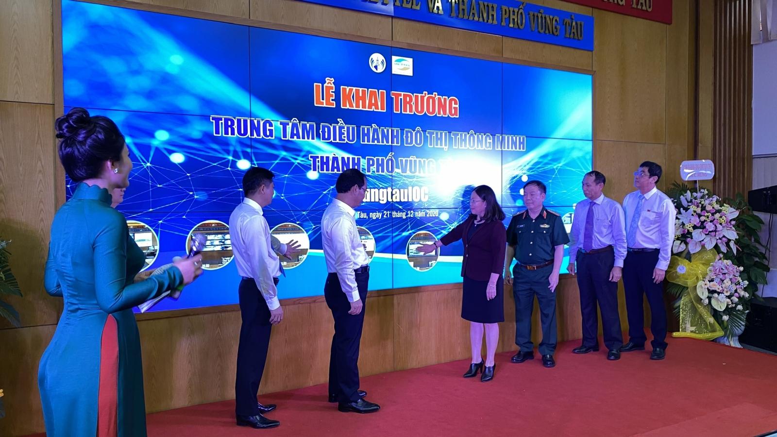 UBND TP Vũng Tàu chính thức đưa Trung tâm điều hành đô thị thông minh vào hoạt động