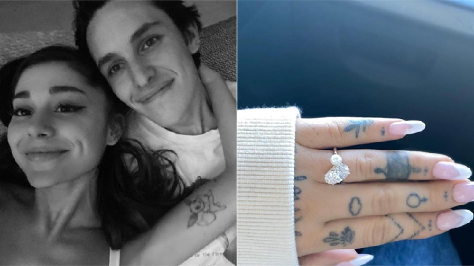 Ariana Grande đính hôn với bạn trai kém tuổi sau 10 tháng hẹn hò