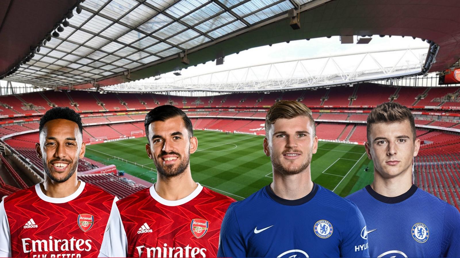 Dự đoán tỷ số, đội hình ra sân trận Arsenal - Chelsea