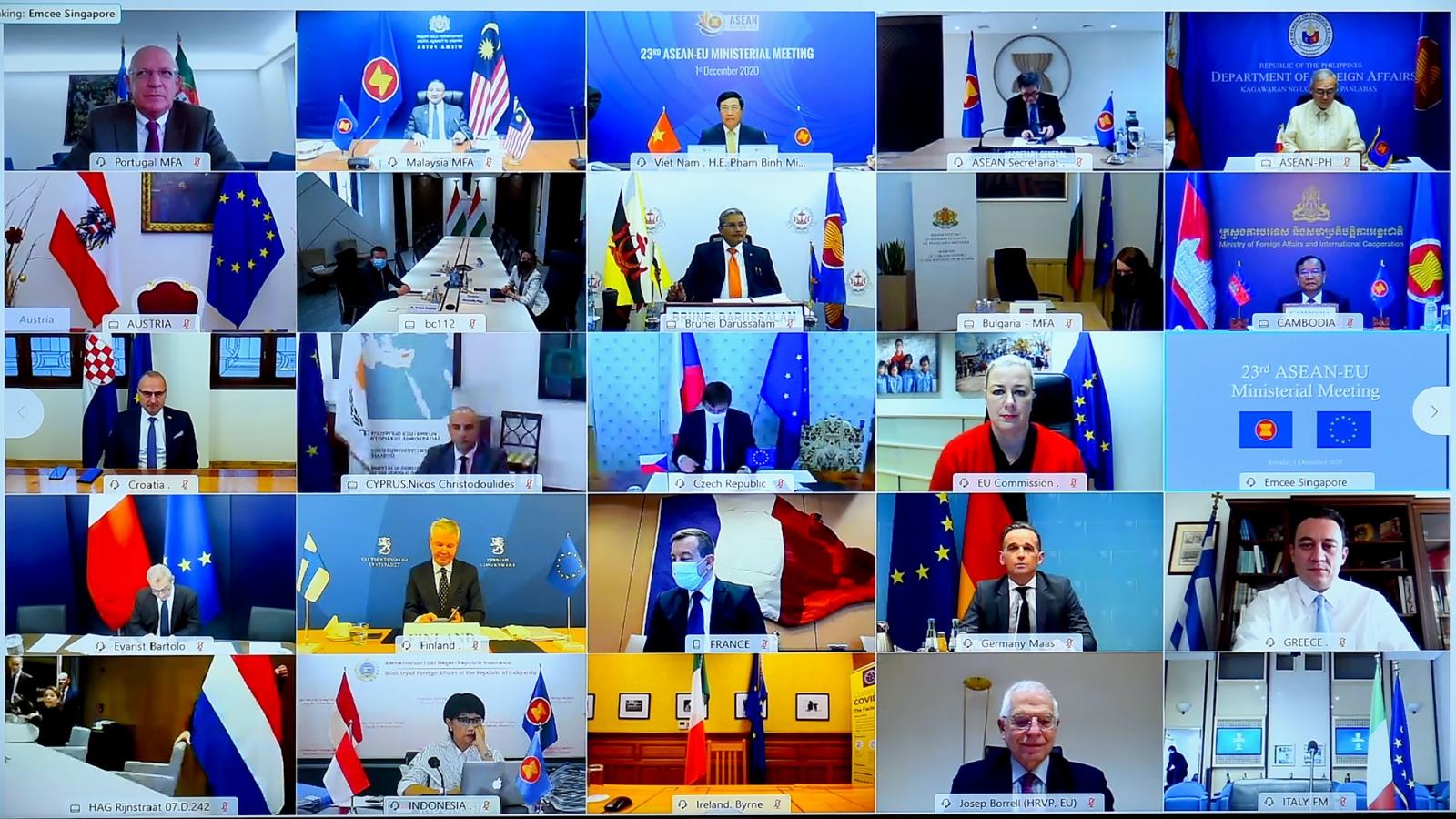 ASEAN-EU nâng cấp quan hệ lên Đối tác chiến lược