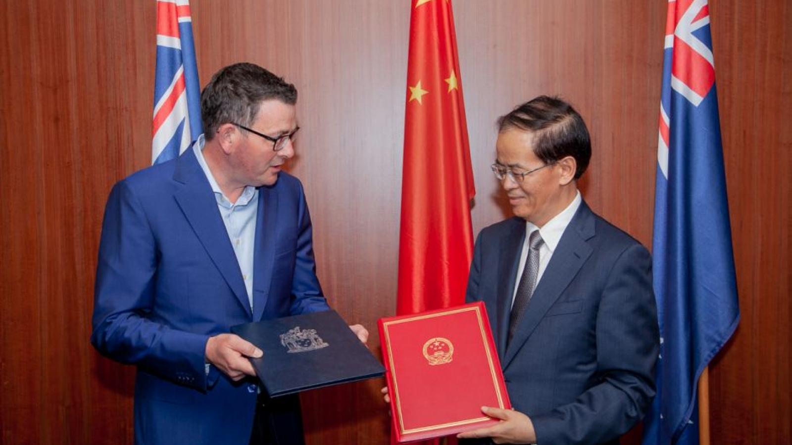 Bang Victoria (Australia) có thể hủy thỏa thuận Vành đai và Con đường với Trung Quốc