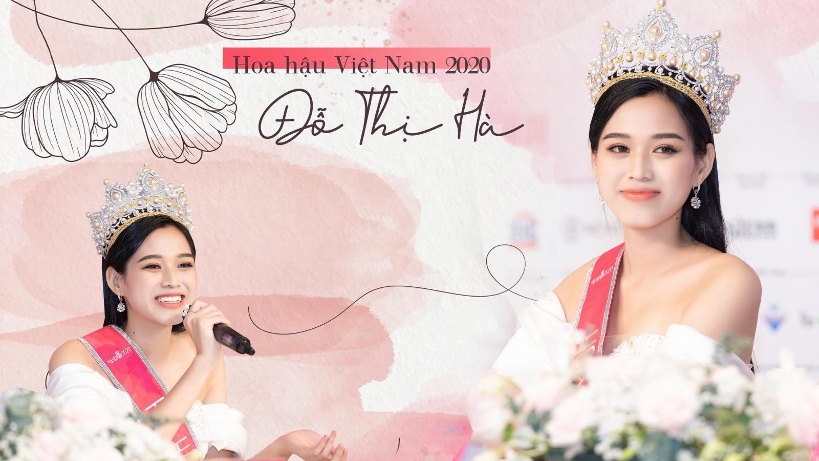 """Hoa hậu Việt Nam Đỗ Thị Hà: """"Tôi mong thực hiện được nhiều dự án Nhân ái"""""""