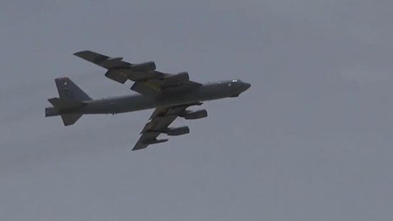 Mỹ điều máy bay ném bom B-52 tới Trung Đông để răn đe Iran