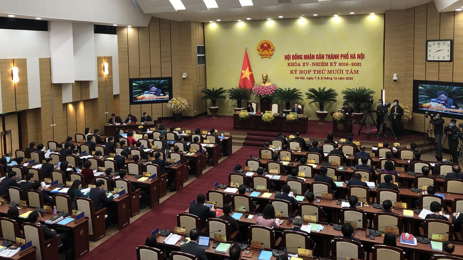 Khai mạc Kỳ họp thứ 18 HĐND TP Hà Nội: Sẽ kiện toàn chức danh chủ chốt