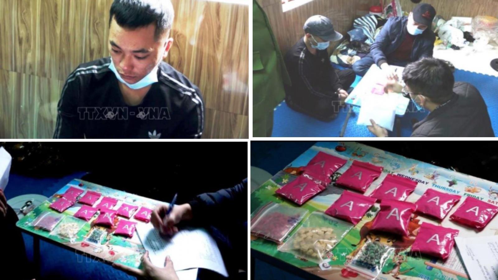 Quảng Bìnhphá chuyên án thu giữ hơn 2.400 viên ma túy tổng hợp