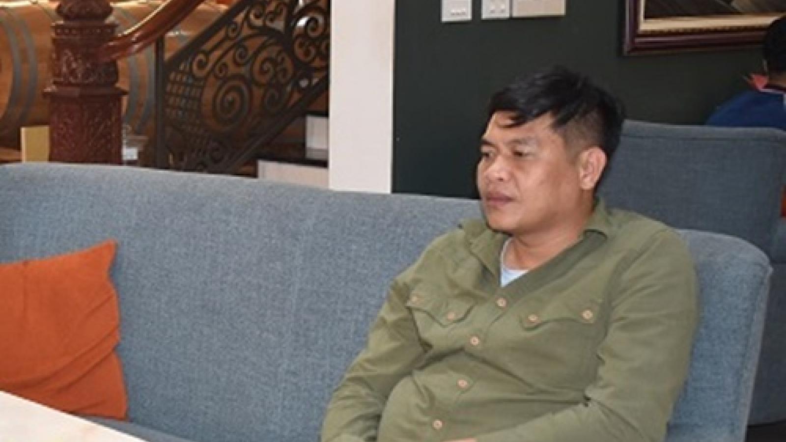 Phóng viên bị bắt khi tống tiền doanh nghiệp có đăng kí tác nghiệp ở Ninh Bình