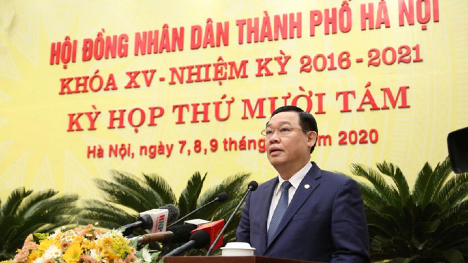 Hà Nội cần tập trung giải quyết vấn đề dân sinh bức xúc trong năm 2021
