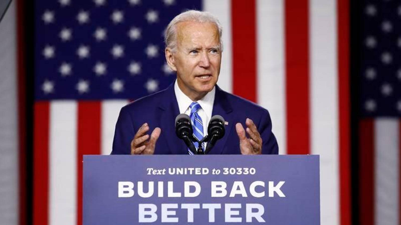 Lo EU bắt tay Trung Quốc, Tổng thống đắc cử Joe Biden kêu gọi liên minh mạnh mẽ hơn