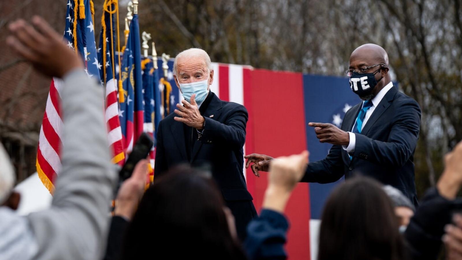 Joe Biden vận động cử tri Georgia cho cuộc đua quyết định ở Thượng viện