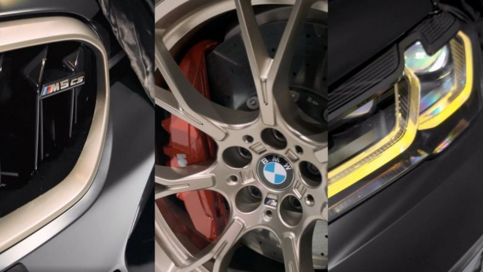 BMW hé lộ về chiếc M5 CS