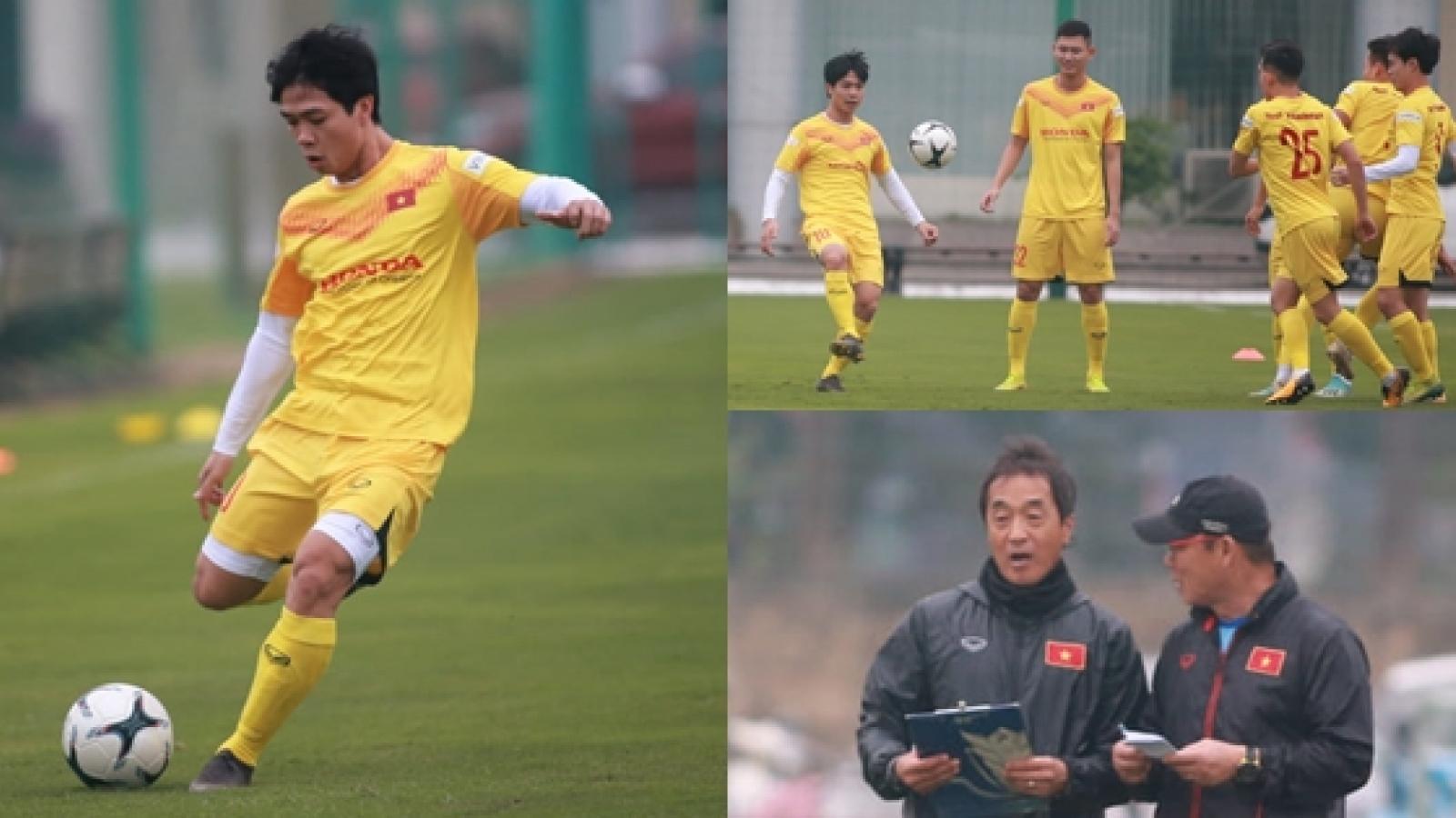 """""""Bộ ba sát thủ"""" U19 Việt Nam thời Graechen tái hợp dưới tay thầy Park"""