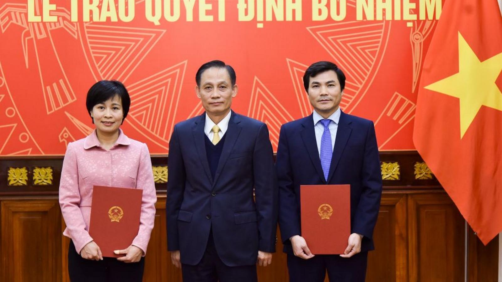 Bộ Ngoại giao bổ nhiệm nhân sự lãnh đạo cấp vụ