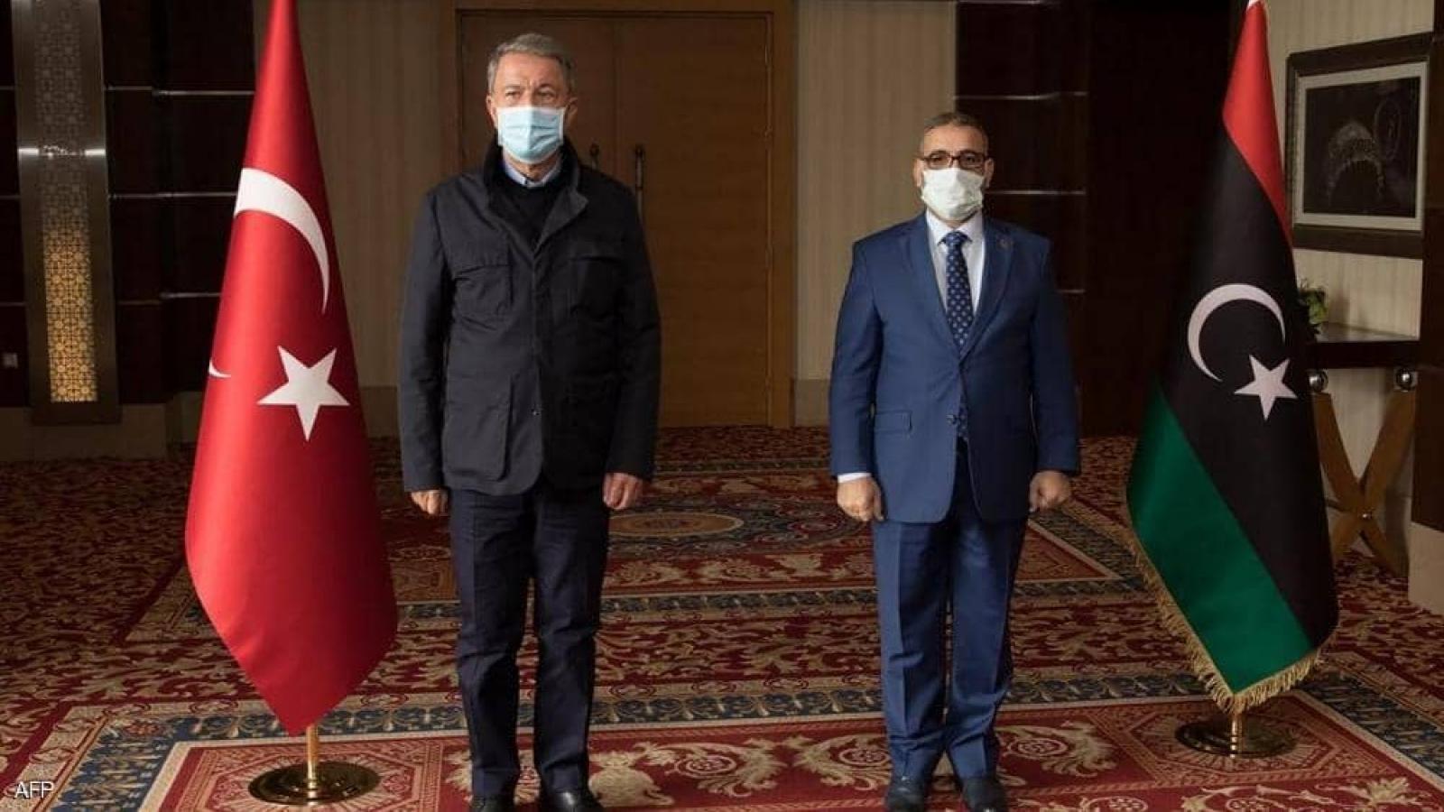 Bộ trưởng Quốc phòng Thổ Nhĩ Kỳ bất ngờ thăm Libya