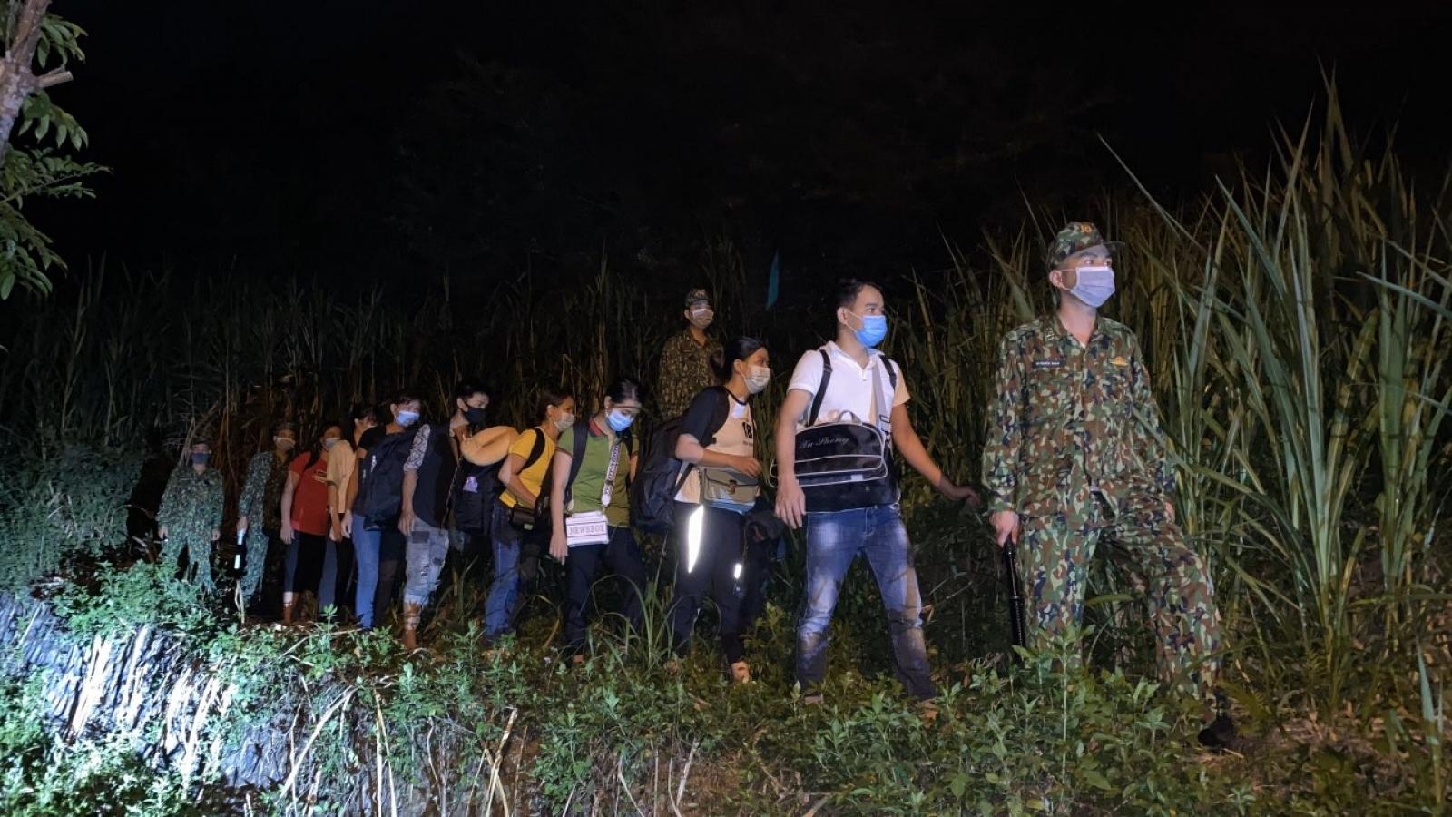 Cao Bằng phát hiện 86 công dân Việt Nam nhập cảnh trái phép