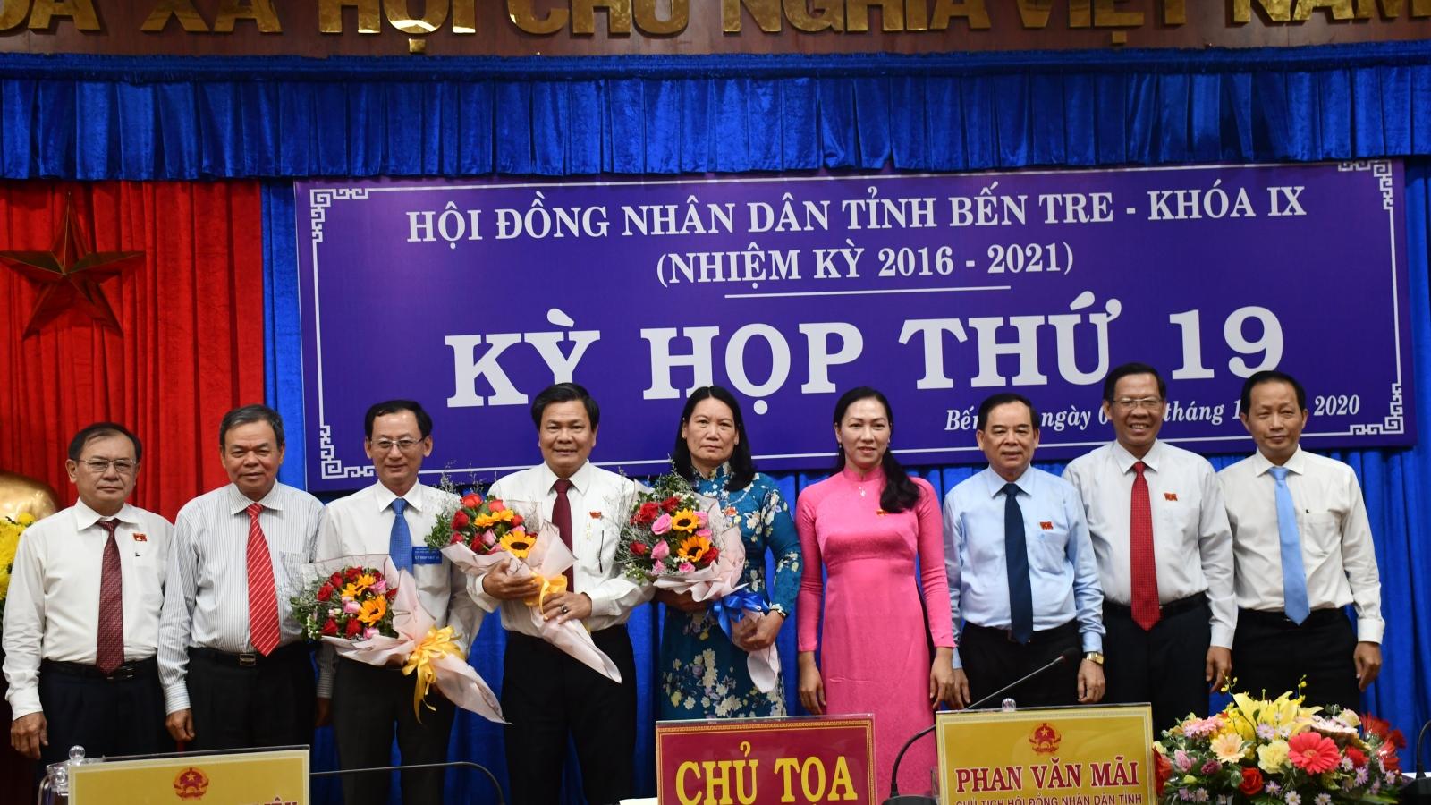 Bến Tre bầu bổ sung 2 phó Chủ tịch UBND tỉnh