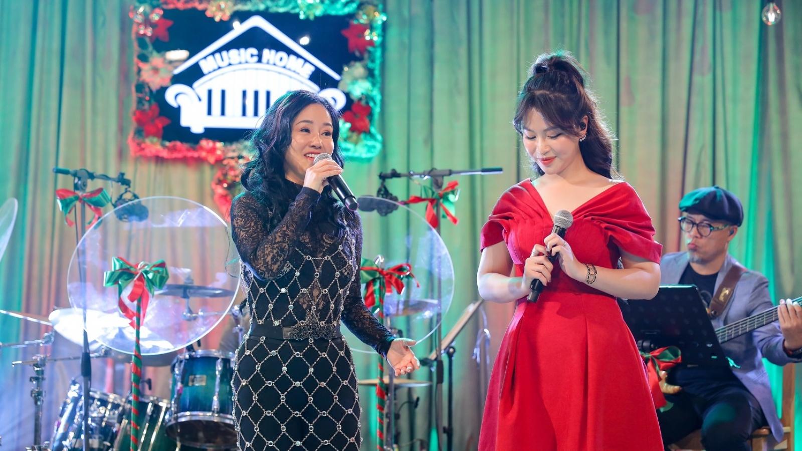 Quán quân Giọng hát hay Hà Nội xúc động khi được hát cùng diva Hồng Nhung