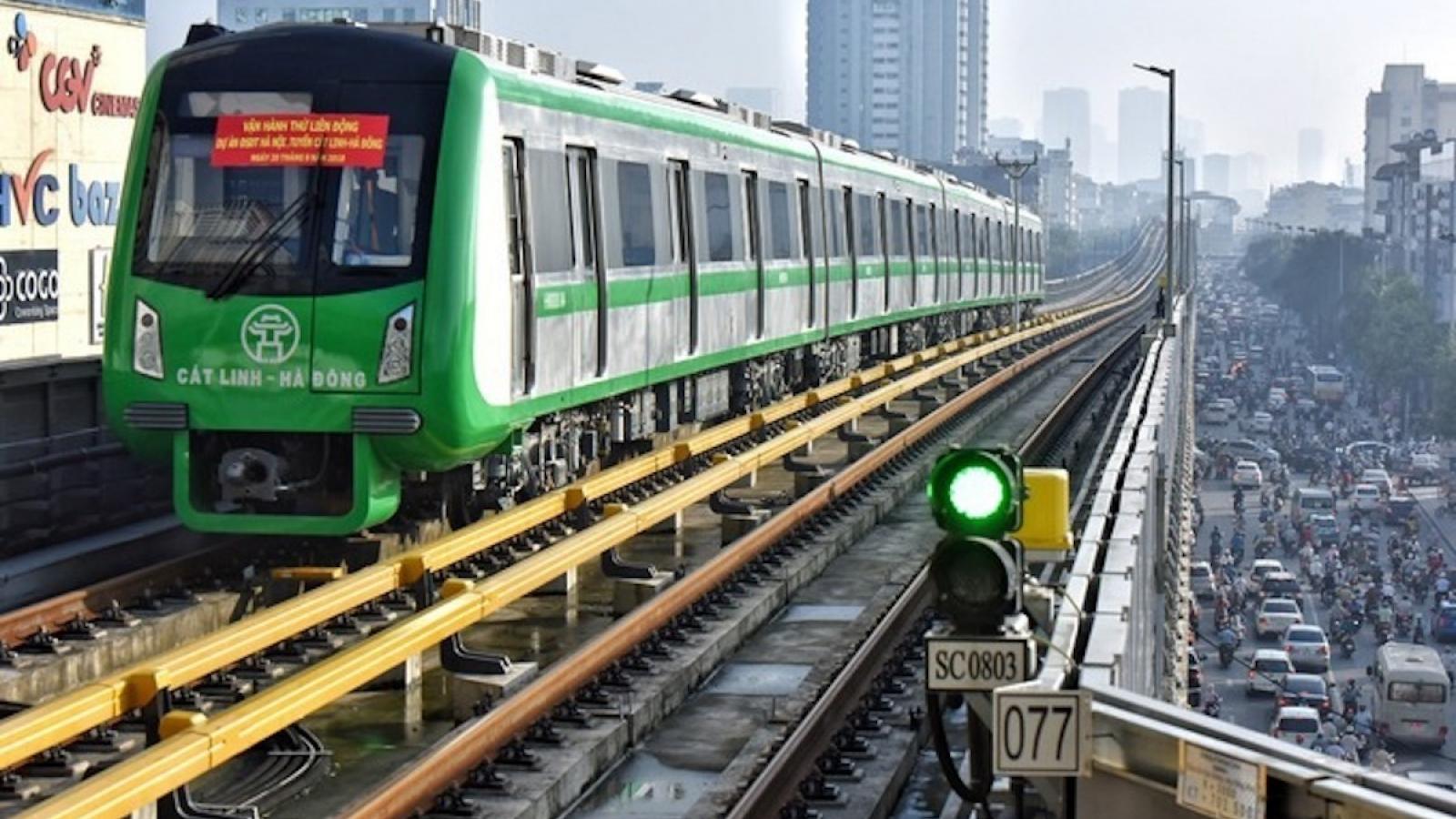 """Bảng lương lao động vận hành đường sắt Cát Linh - Hà Đông ở mức """"trung bình tiên tiến"""""""