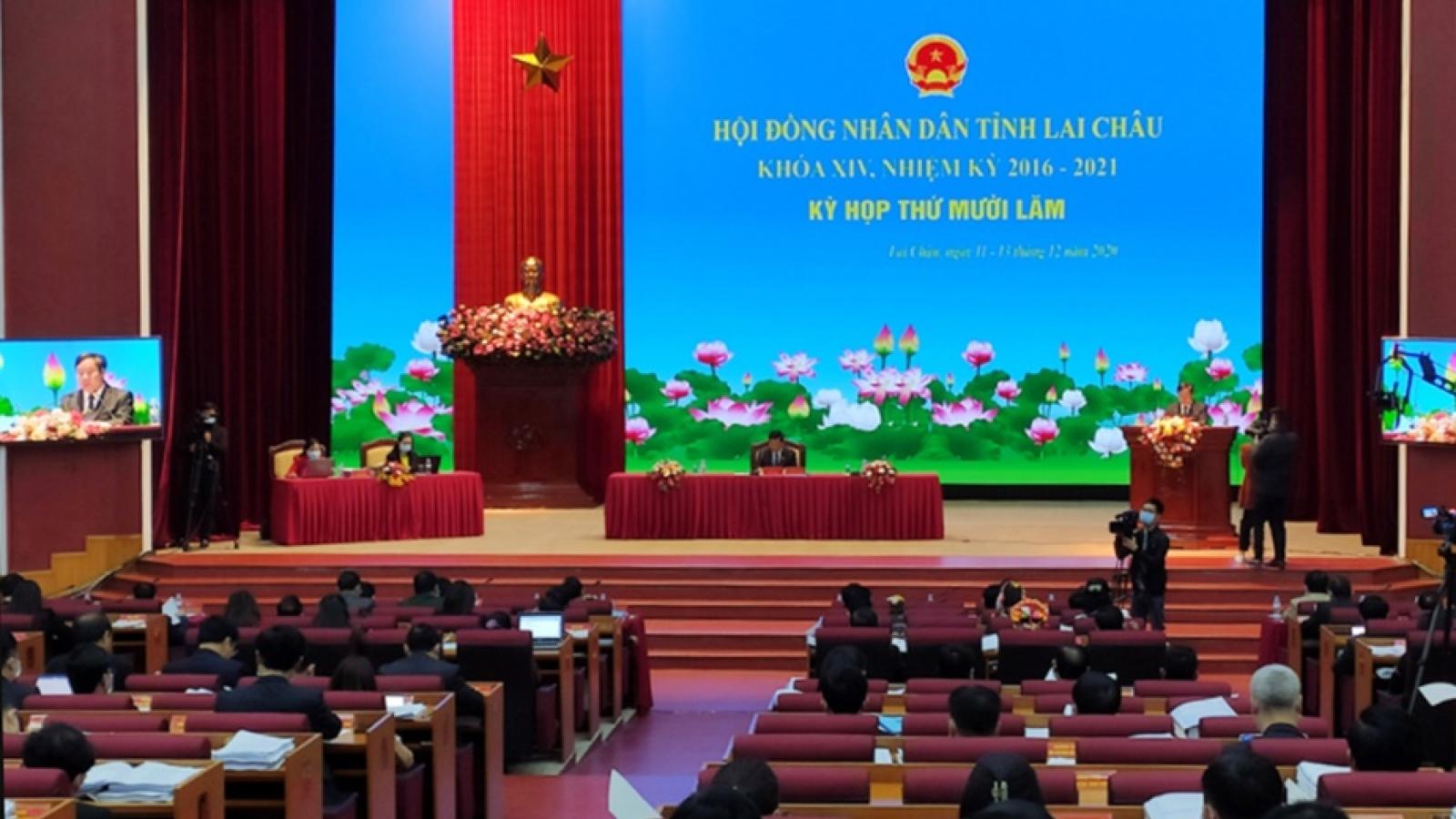 HĐND tỉnh Lai Châu thông qua nhiều nghị quyết quan trọng về kinh tế - xã hội