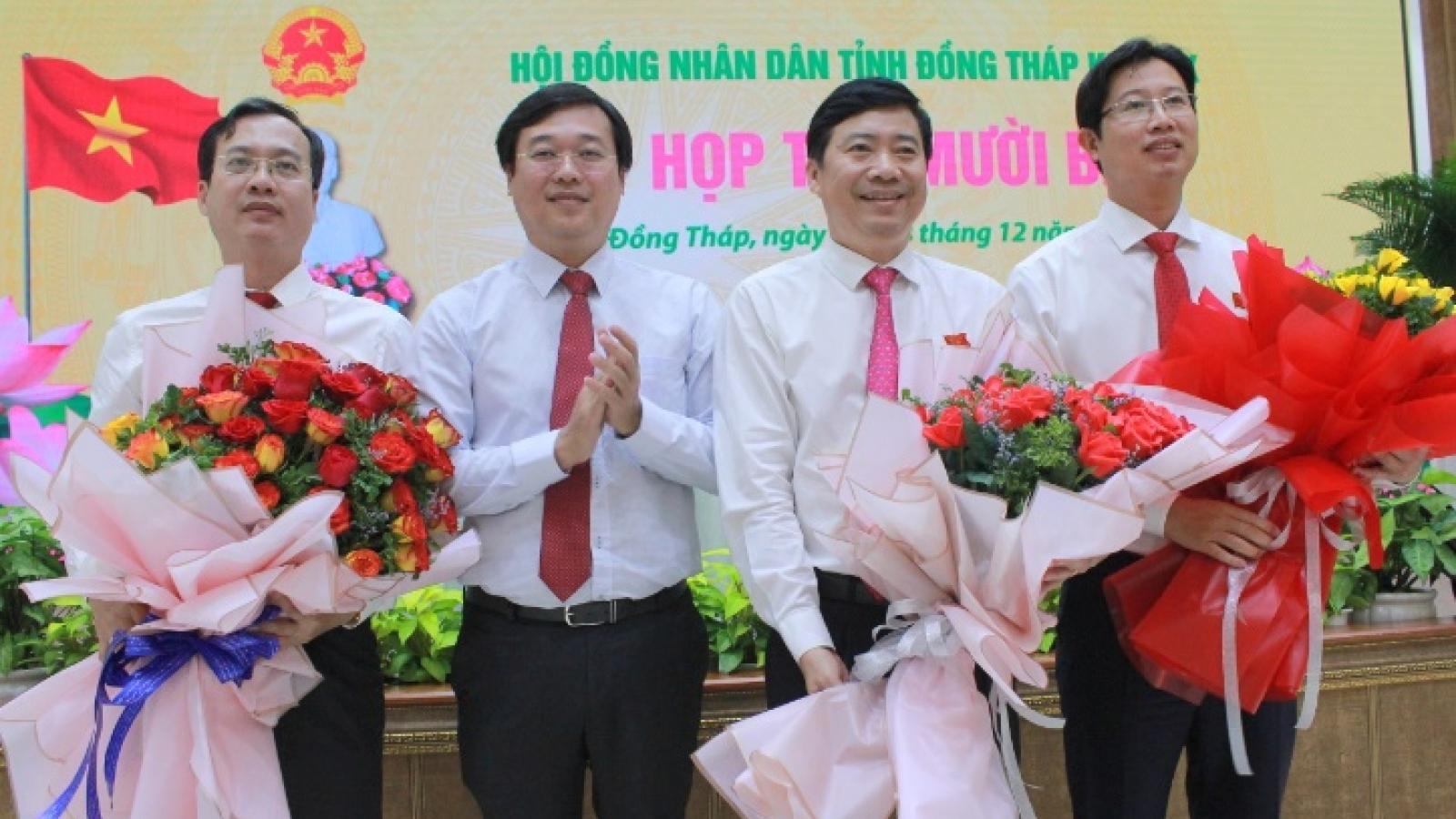 Thủ tướng chuẩn y kết quả bầu nhân sự tỉnh Đồng Tháp