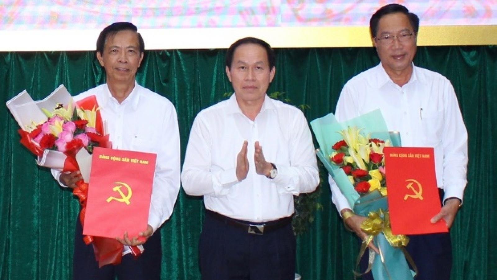 Công bố các quyết định về công tác cán bộ tại tỉnh Hậu Giang
