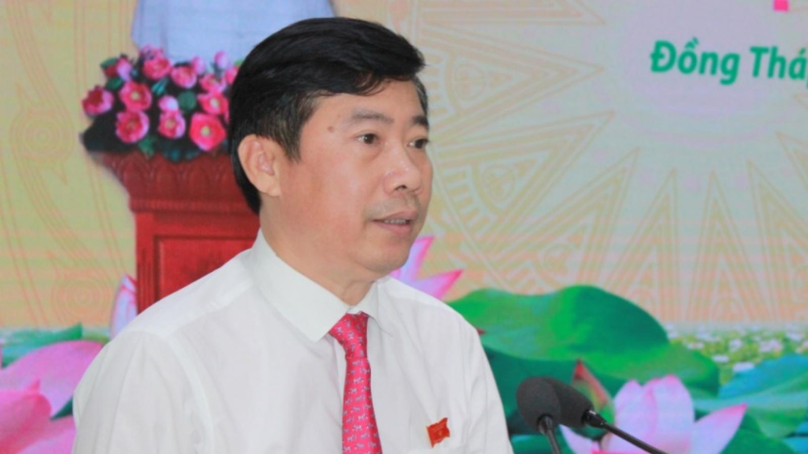 Đồng Tháp bầu Chủ tịch và Phó Chủ tịch UBND tỉnh