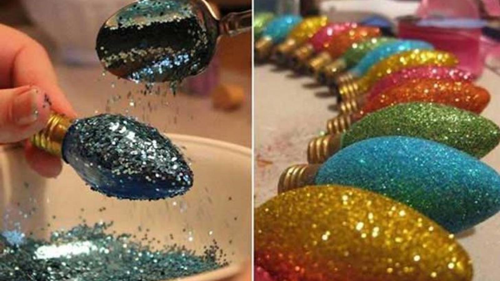 Những món đồ trang trí Giáng sinh tuyệt đẹp và đơn giản chỉ mất 30 phút thực hiện