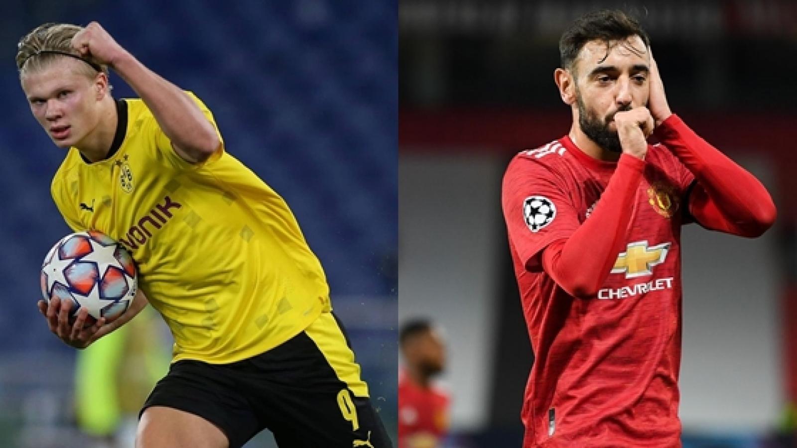 Dự đoán kết quả Champions League đêm nay: Dortmund, MU giành vé đi tiếp