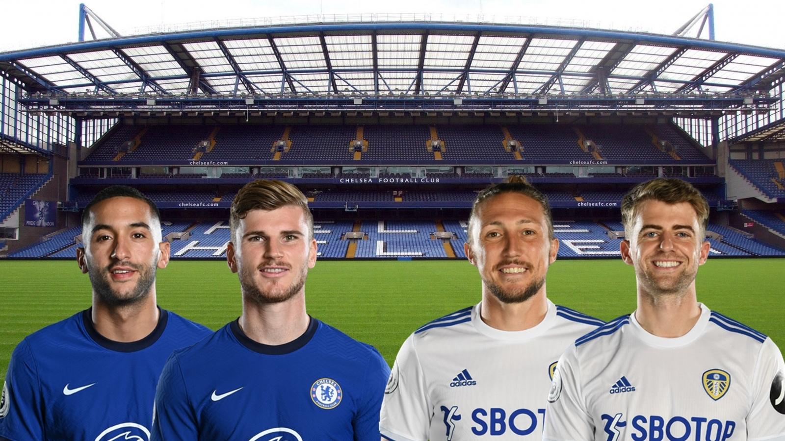 Thông tin lực lượng, dự đoán tỷ số Chelsea - Leeds