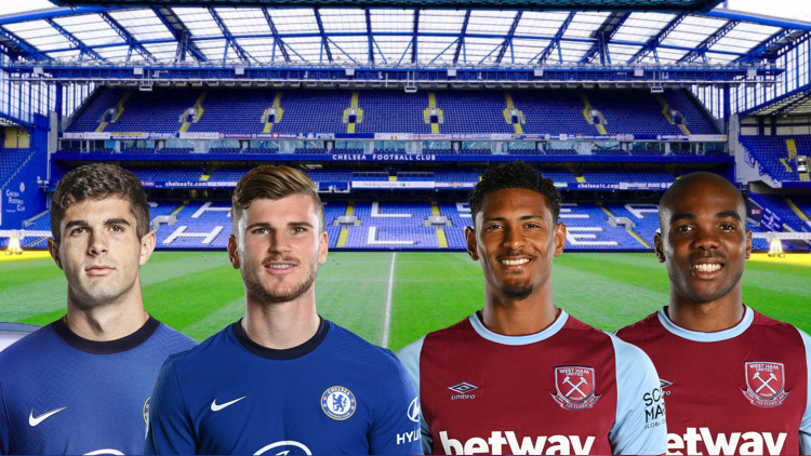 Thông tin lực lượng, dự đoán tỷ số Chelsea - West Ham