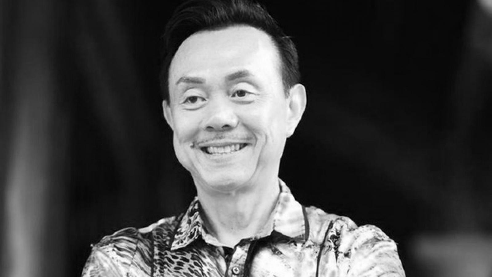 Danh hài Chí Tài đột ngột qua đời do đột quỵ ở tuổi 62