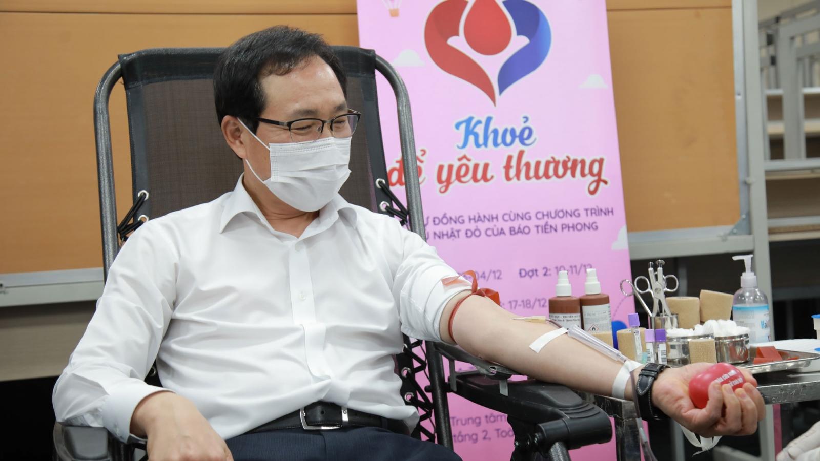 """Samsung Việt Nam phát động hiến máu tình nguyện """"Khỏe để yêu thương"""""""