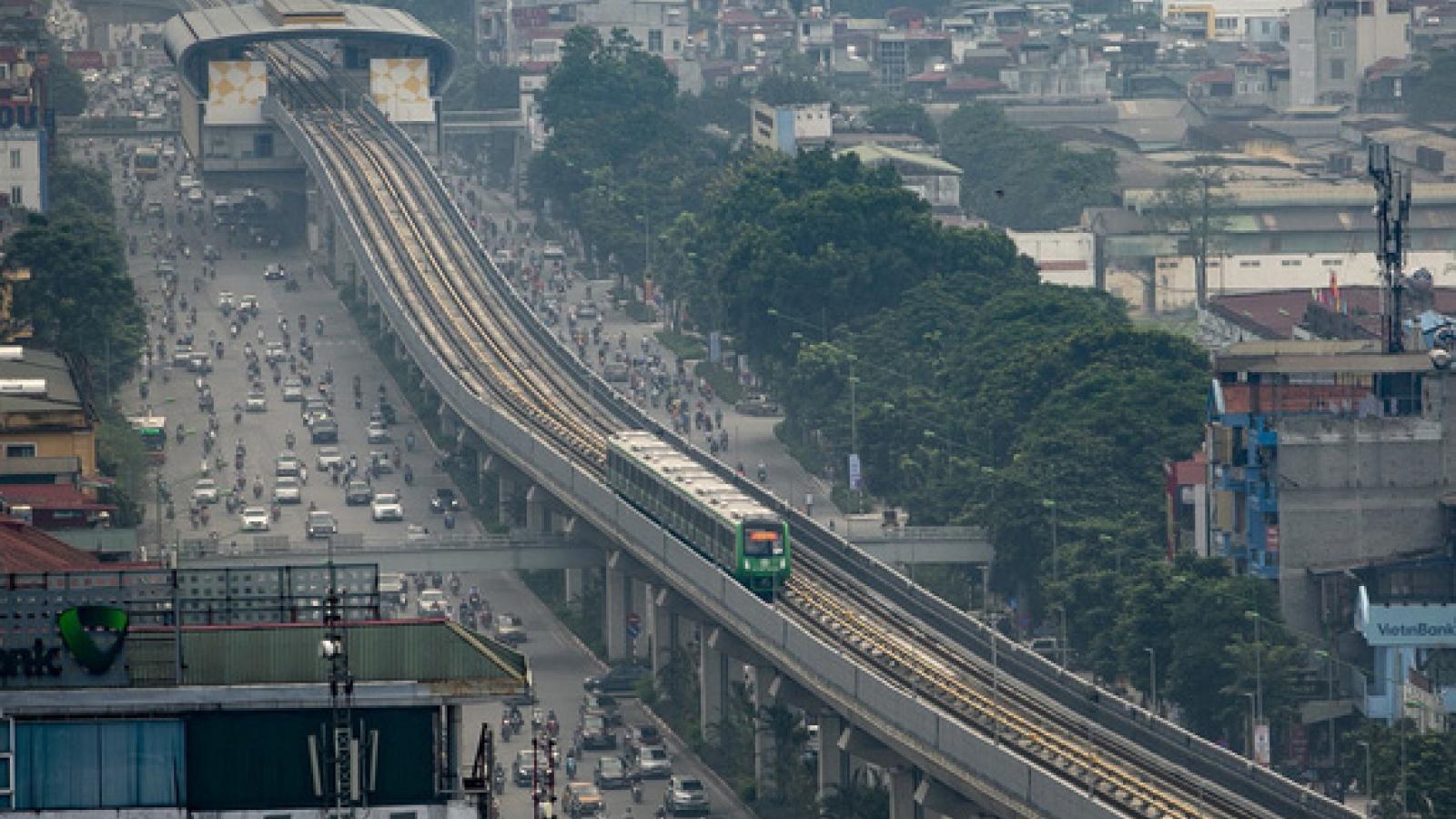 Bắt đầu vận hành thử nghiệm đường sắt Cát Linh - Hà Đông để đánh giá độ an toàn