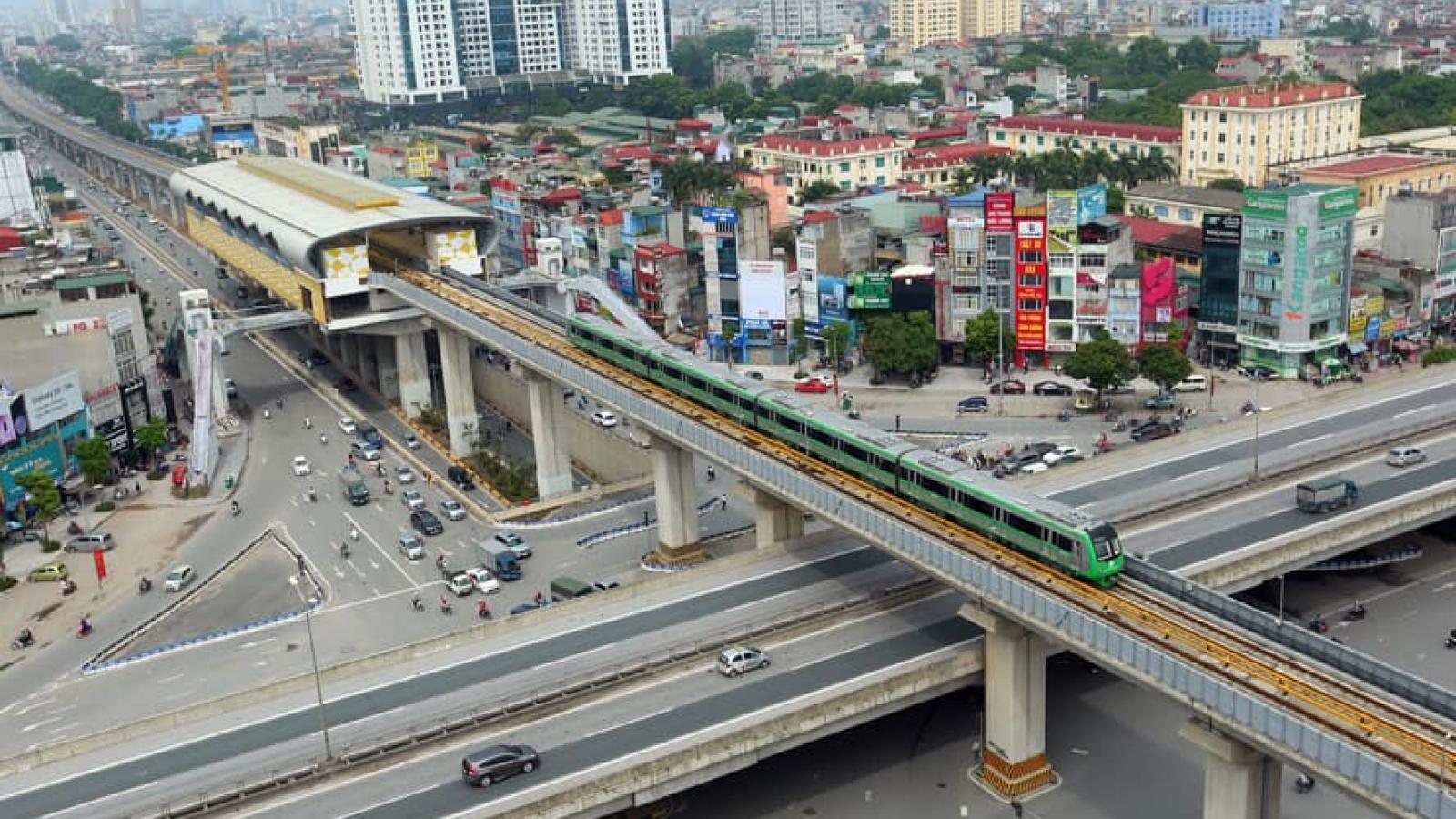 """Nhìn lại 3 ngày đầu tàu Cát Linh - Hà Đông """"lăn bánh"""" không tải"""