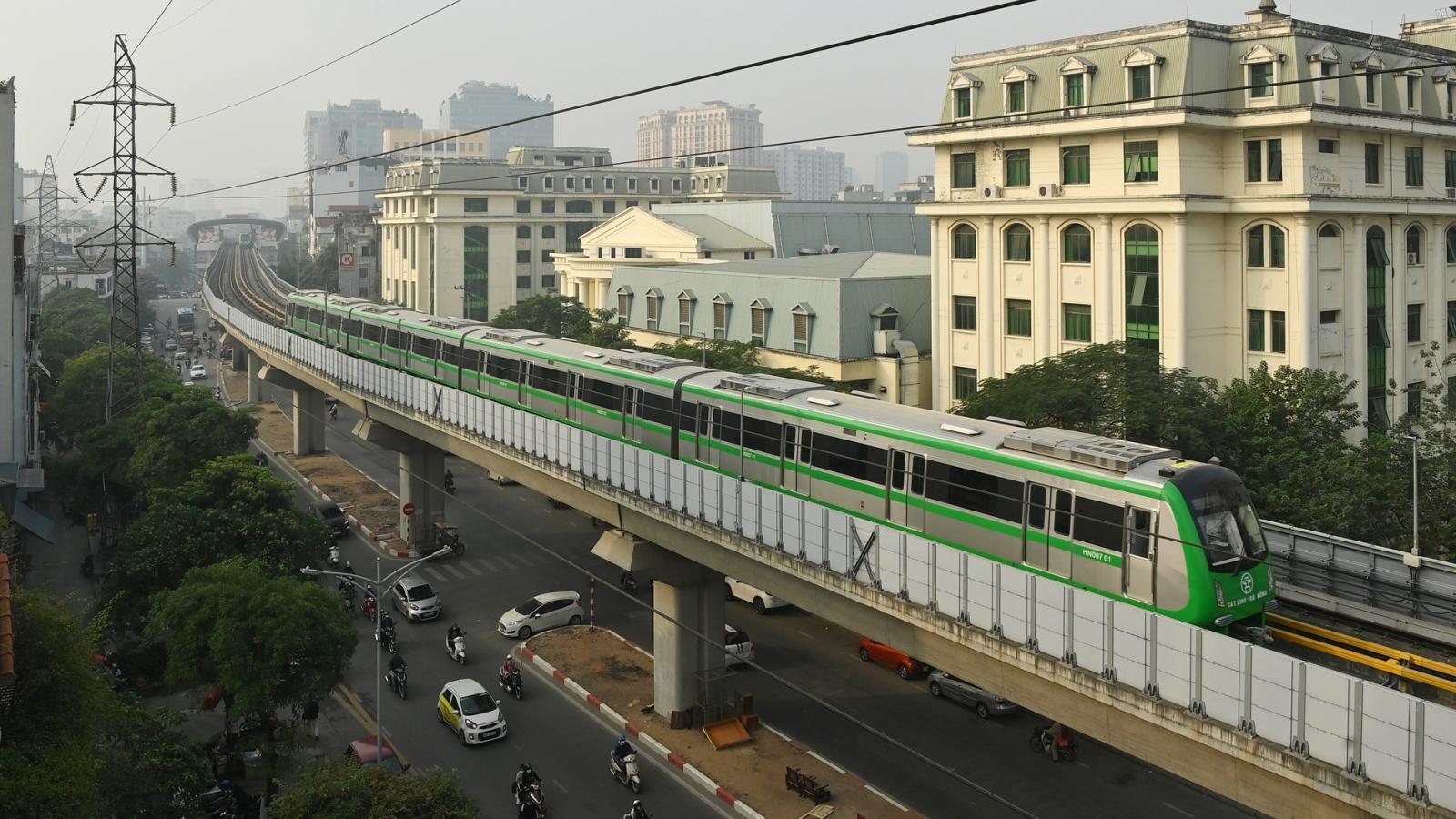 Các đoàn tàu tuyến đường sắt Cát Linh - Hà Đông đã được đăng kiểm thế nào?