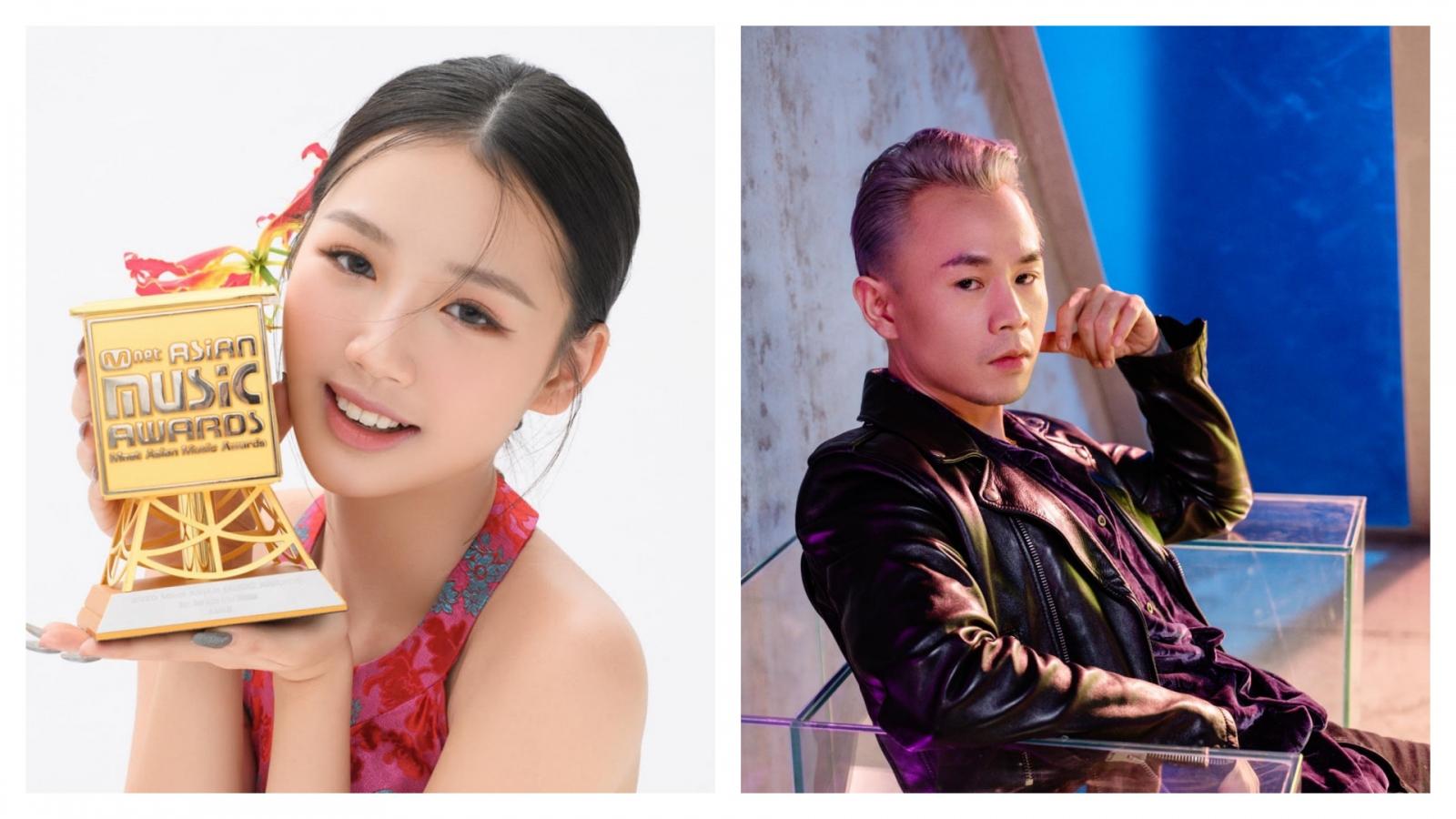 Chuyện showbiz: AMEE, Binz chiến thắng giải thưởng âm nhạc Hàn Quốc