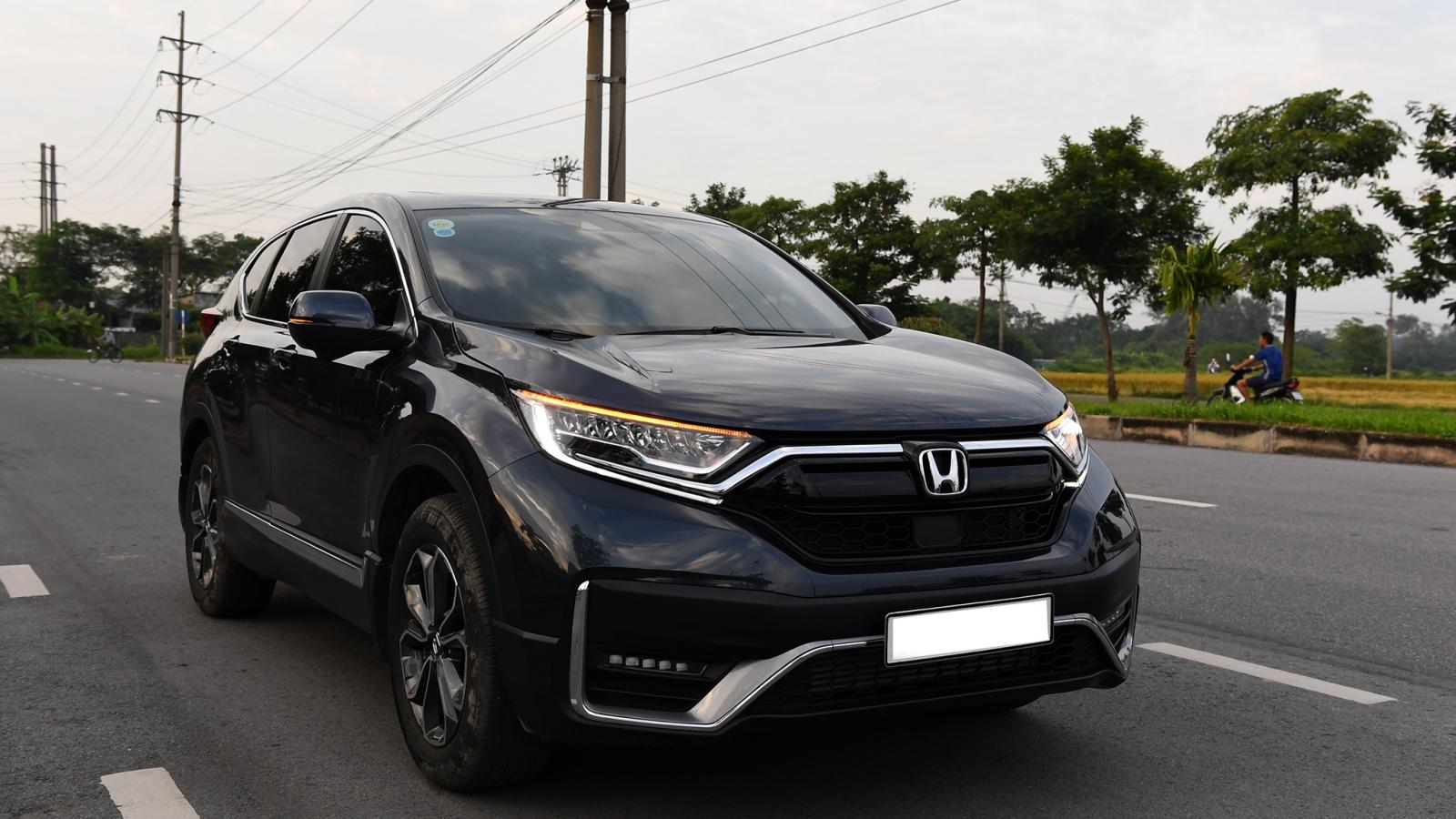 Honda CR-V 2020 hoàn thiện hơn với Honda Sensing